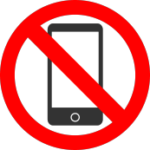 no cell phone icon
